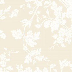 9875M-E Maywood Belle Epoque Cream Floral Damask