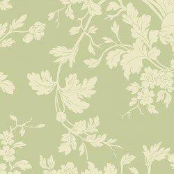 9875M-G Maywood Belle Epoque Green Floral Damask
