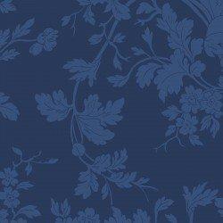 9875M-N Maywood Belle Epoque Navy Floral Damask