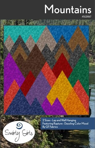 Mountains Pattern by Swirly Girls Designs