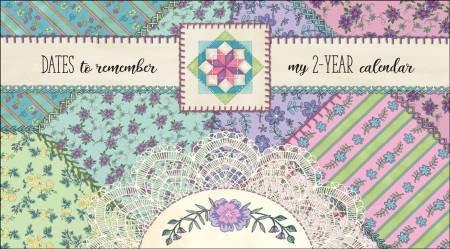 Nancy Mink Crazy Quilt 2 Year Pocket Calendar