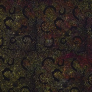 PK-7-8038 - Mirah Batiks Pumpkin Patch Black Mocktail