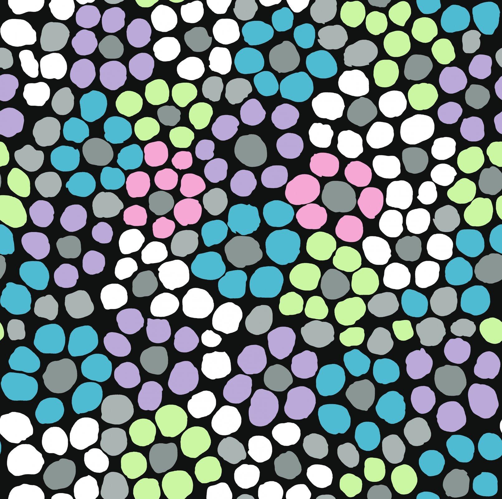 PWBM077.STONE - Flower Dot
