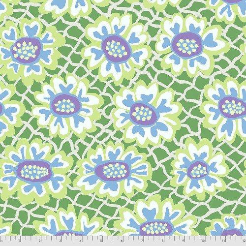 PWBM081.GREEN - Flower Net - Green