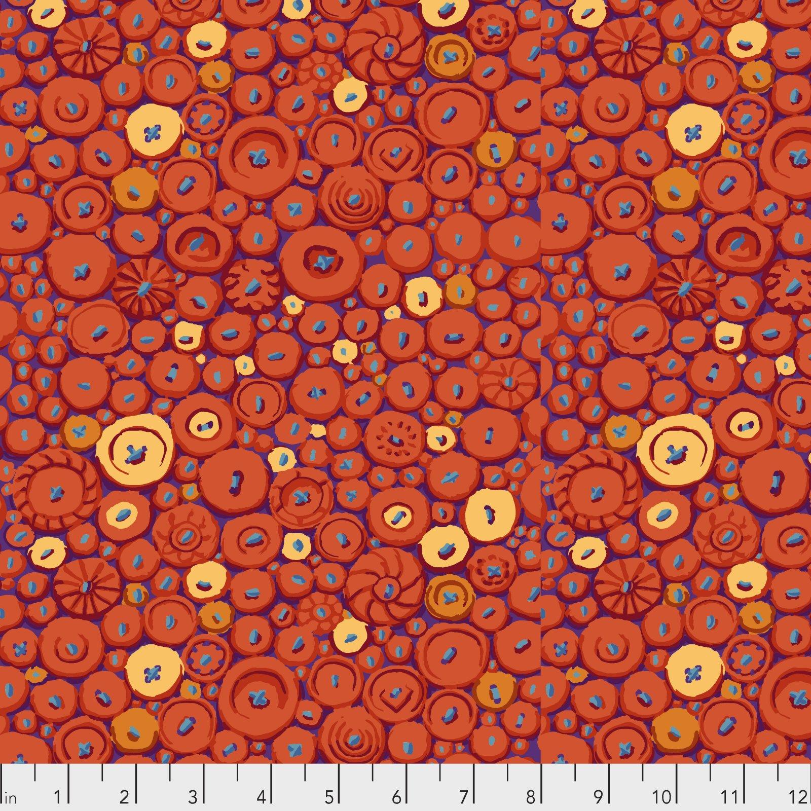 PWGP182.ORANGE - Button Mosaic
