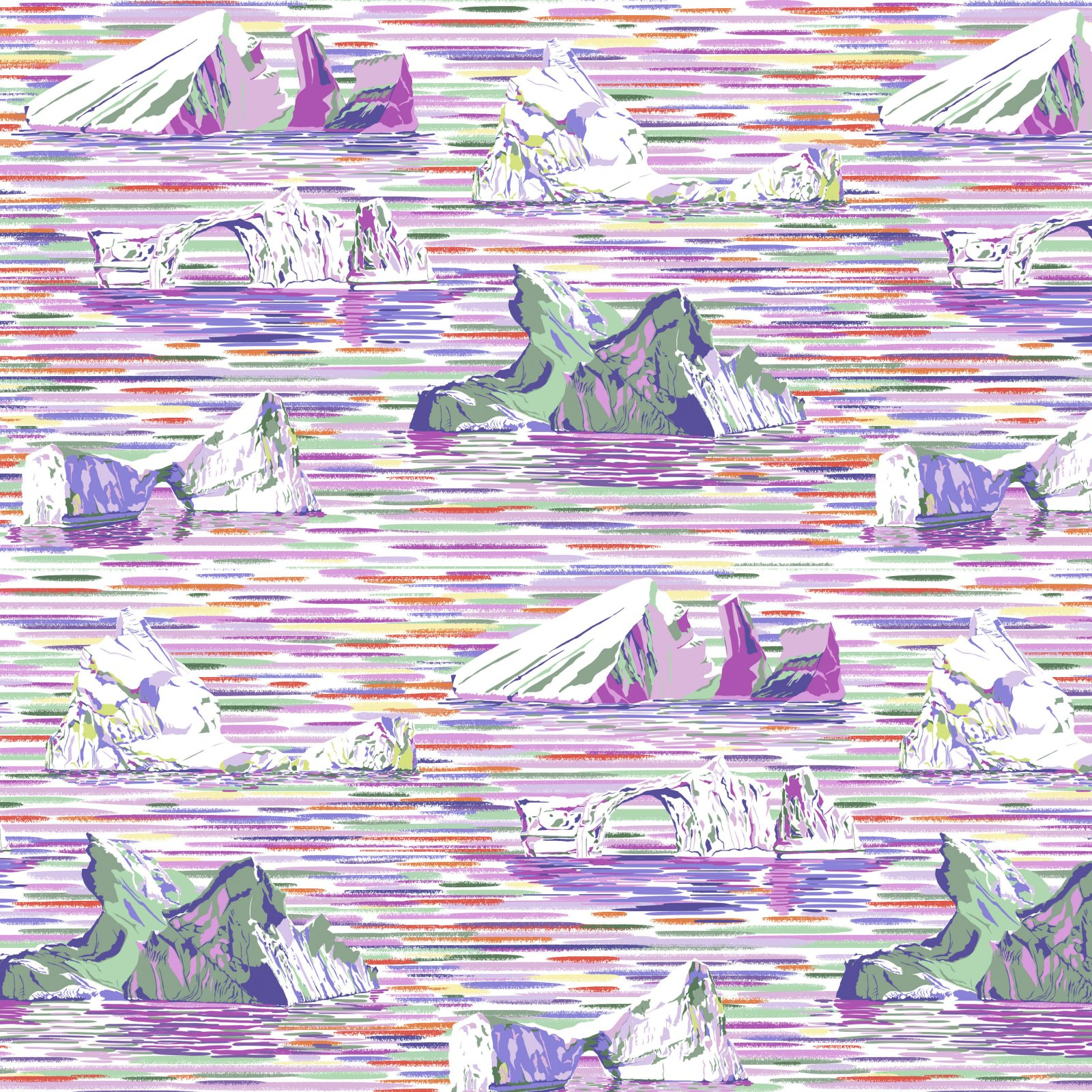 PWLT018.LAVENDER - Free Spirit Migration Icebergs - Lavender