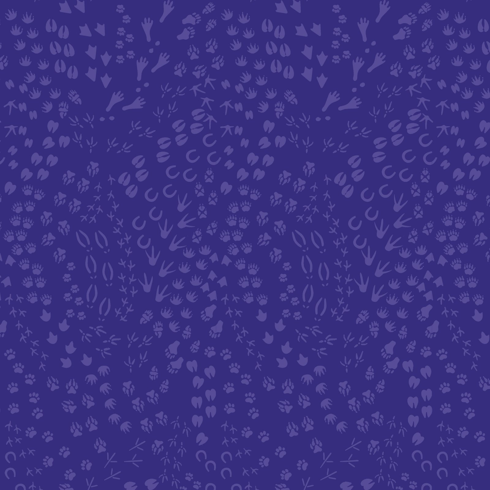 PWLT022.PURPLE - Free Spirit Migration Animal Tracks - Purple