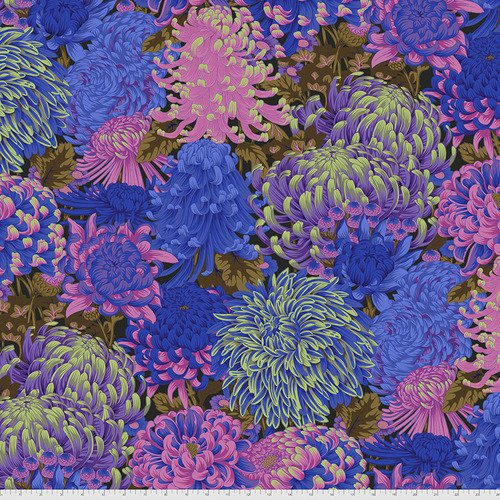 PWPJ107.COOL - Hokusai's Mums - Cool
