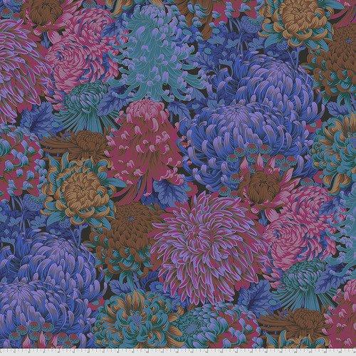 PWPJ107.DARK - Hokusai's Mums - Dark