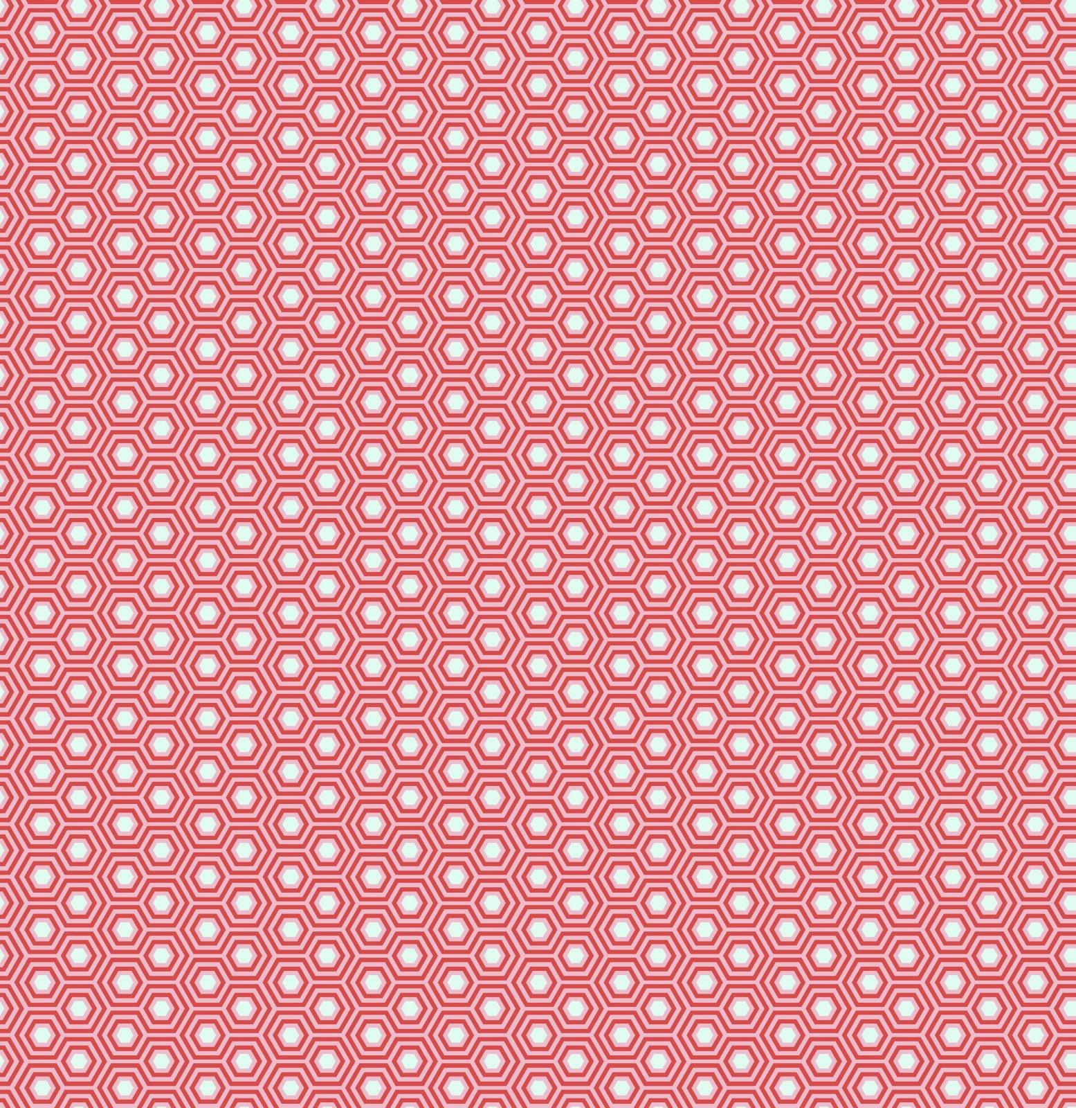PWTP150.FLAMINGO - Tula Pink Hexy - Flamingo