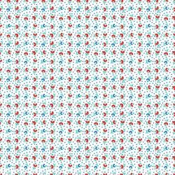 RJ2503-RE3 RJR EVERYTHING BUT THE KITCHEN SINK XV - TULIPS - RED