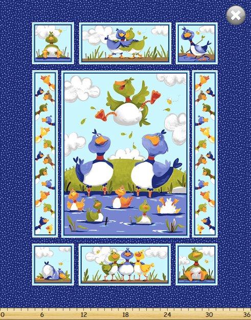 SB20335-780 - Clothworks Bill & Bob 36 Panel