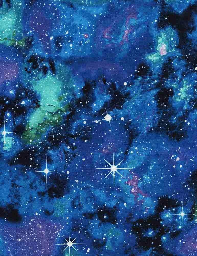 C4847-Galaxy - Timeless Treasures - Blue