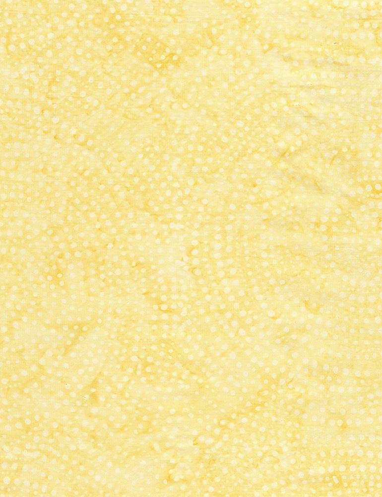 B2336-Honey - Timeless Treasures Batik Dotty Spiral - Honey