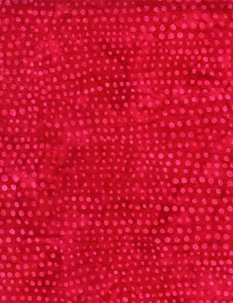 B3942-Cherry - Timeless Treasures Caviar Batik - Cherry