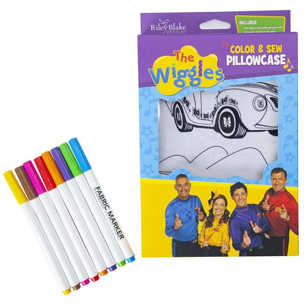 KT0105 - Riley Blake Pillowcase Kit - The Wiggles