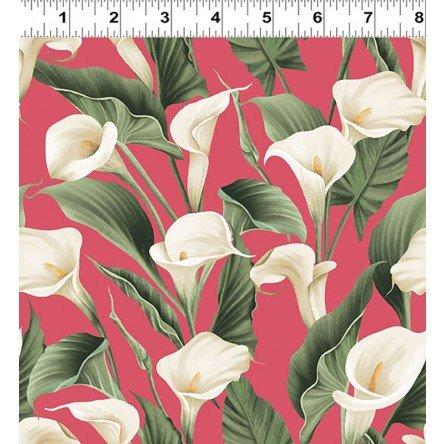 Y3131-40 Clothworks Colorido Calla Lily - Pink