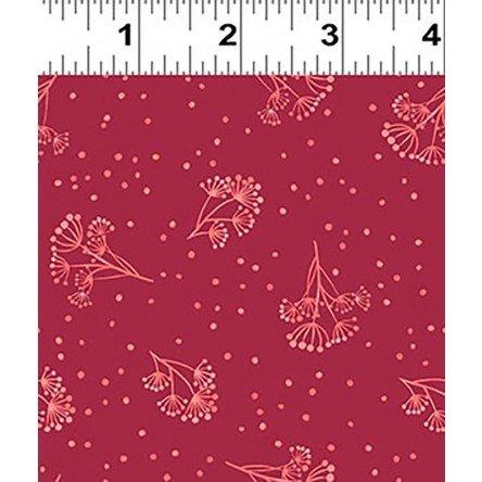 Y3134-82 Clothworks Colorido Sprig - Red