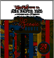 Echo Park Double-Sided Paper Pad 6X6 24/Pkg-Scenic Route