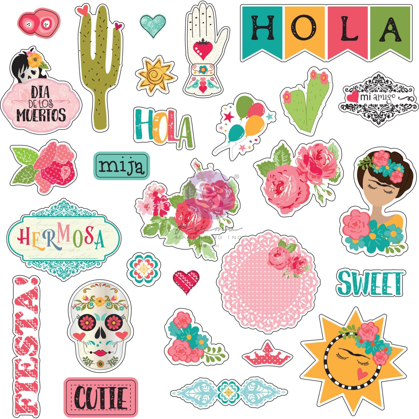 PRE ORDER ONLY-Julie Nutting Sticker Sheet