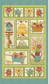 Benartex-Garden Days  10070-99