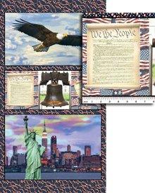 Benartex-American Spirit  1336-99