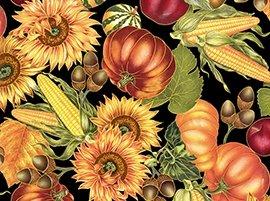Quilting Treasures-Harvest Medley  22644-J