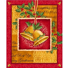 Quilting Treasures-Christmas Bells  23831-RS