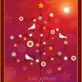 Quilting Treasures-Love & Peace  24471-R
