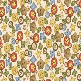 Red Rooster Fabrics-Time to Stitch  25462-CRE1