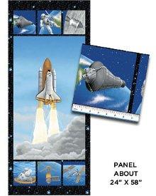Benartex-I Want My Space  3380-99