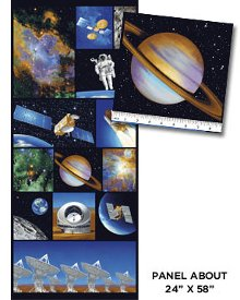 Benartex-I Want My Space  3383-99