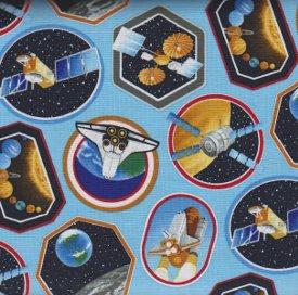 Benartex-I Want My Space  3384-05