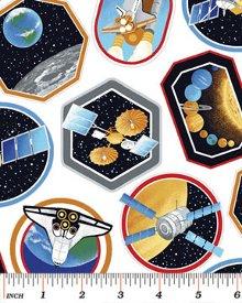 Benartex-I Want My Space  3384-9