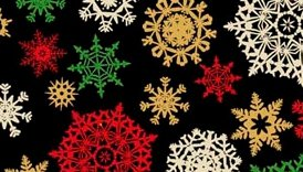 Exclusively Quilters-Golden Christmas  60671-88G