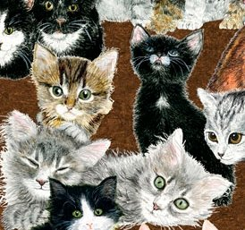 Exclusively Quilters-Counting Kittens  60681-9