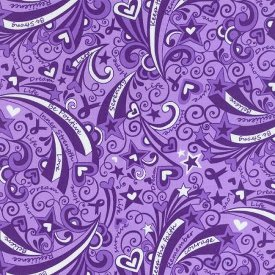 Blank Quilting-Positive Reflections  6972-Purple