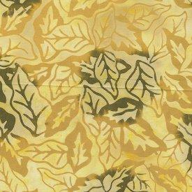 Benartex-Everglade Balis-Over My Head Pale Yellow Batik  7060B-03