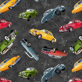 Blank Quilting-Route 66  7434-90 Grey
