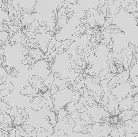 Blank Quilting-Blossom Vine  8278-90 Lt. Grey