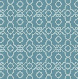 Blank Quilting-Blossom Vine  8281-70 Blue