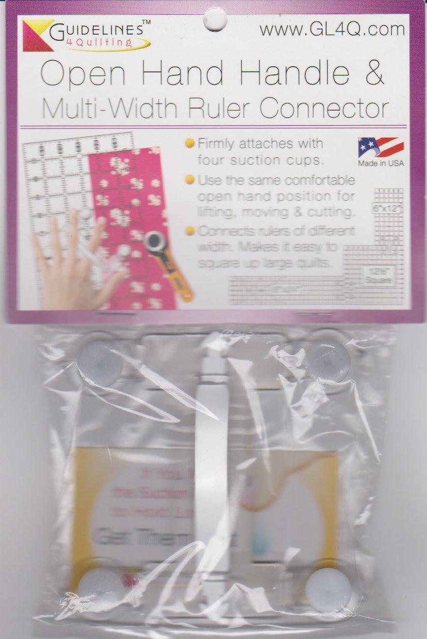 Open Hand Handle & Multi-Width Ruler Connector