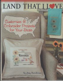 Land That I Love-Customize & Embroider Projects for Your State