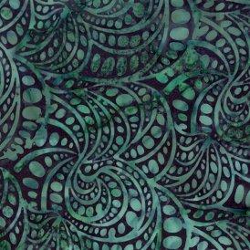 Hoffman Fabrics-Hand Painted Bali  G2220-21 Teal