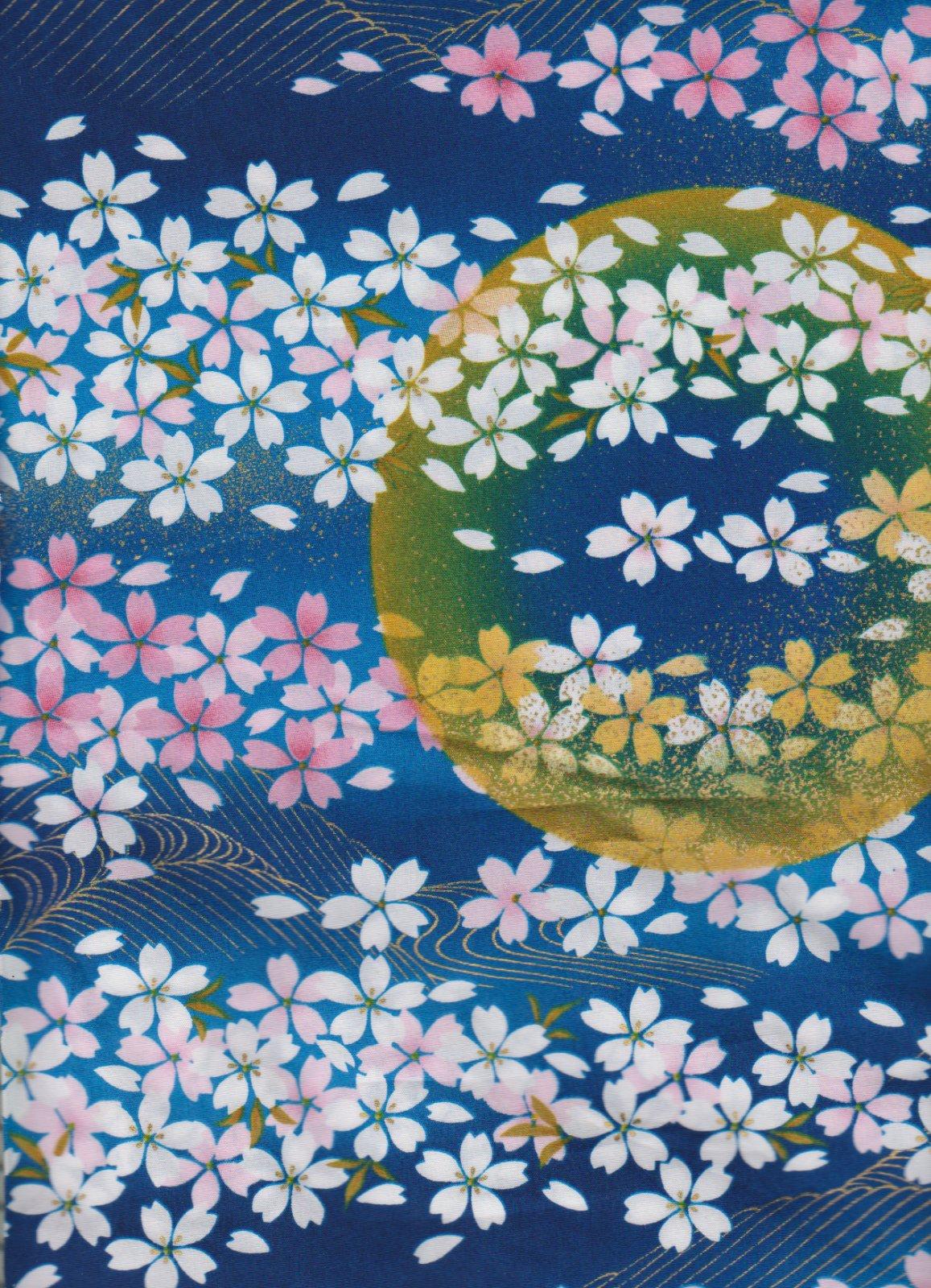 Kona Bay-Nobu Fujiyama-Textile Pearls of Japan  NOBU-61 Navy