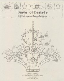 Quilt Country-Bushel of Baskets  QC-BB