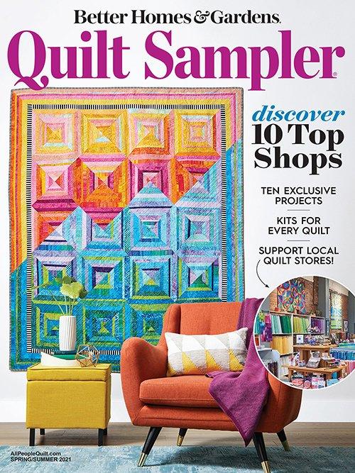 Quilt Sampler Magazine 2021