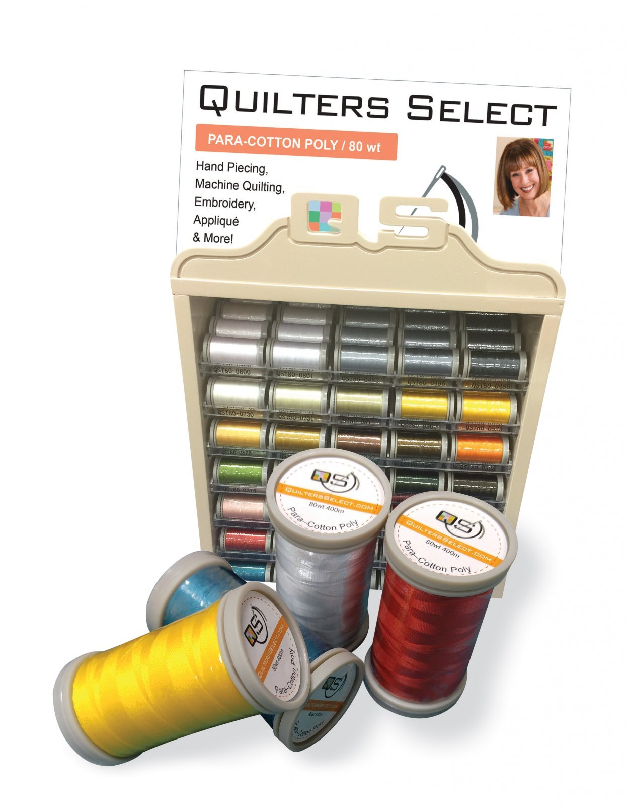 Quilters Select Thread, 80 wt