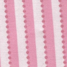 Lakehouse Dry Goods-La Belle Rose III-New Tiny Ticking  LH04036-Pink