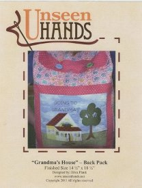 Unseen Hands-Grandma's House Back Pack  UH-1035